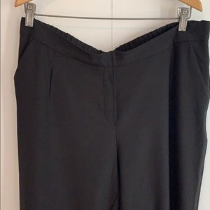 Pants - Black Ankle-length Pants